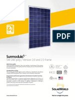 Sunmodule Solar Panel 240 Poly Ds