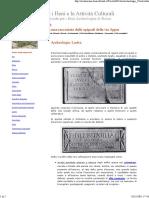 Lastra - archeologia