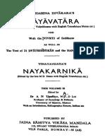 Siddhasenas-Nyayavatara