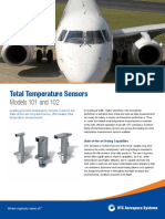 Total Temperature Sensors - Models 101 and 102