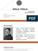 Biografi Tesla- IGN Sasmitha