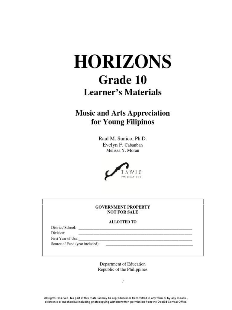 Musicartsgr10lm Qtr1to4complete 150624000232 Lva1 App6892pdf