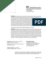 Desigualdad Espacial y Desarrollo Territorial Del Estado de Yucatán. Iglesias Lazsaga 2014