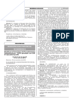 Modifican el Texto Único de Procedimientos Administrativos - TUPA