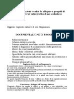 Progetto Impianto Elettrico Falegnameria