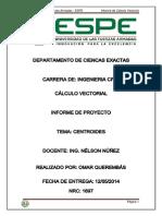 Informe de Calculo Vectorial