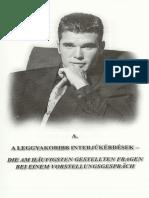Életmentő Német Állásinterjú I. Meséljen Magáról