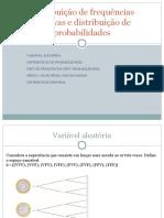 Distribuicao de Frequencias Relativas e Distribuicao de Probabilidades
