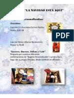 Catálogo de Canastas Navideñas