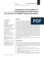 Prevention and management of foot problems in diabetes