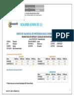 Pronostico Hidrologico Mantaro 03-01-2017