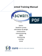 DEWATS Decentralized Wastewater Treatment Systems Practice-Oriented Training Manual