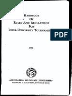 Hand Book_on Inter-universities Torunaments