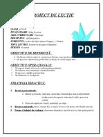 Proiect de Lectie Ab Practice