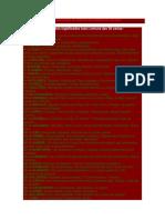 Resumos Dos Significados Das 36 Cartas Do Baralho Cigano