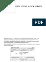 Análisis Del Diagrama Bimanual Actual y Propuesto