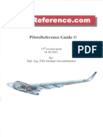 DOC003. Pilots Reference Checklist. V3.1x. ENG