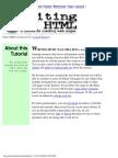 Writing HTML Tutorial