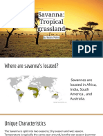 savanna- tropical grassland