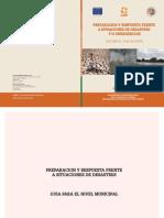 PREPARACION Y RESPUESTA FRENTE A SITUACIONES DE DESASTRES - GUIA PARA EL NIVEL MUNICIPAL