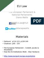 EU Law 2016 - Parliament