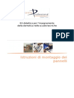 MDID 1 - Istuzioni Di Montaggio