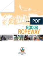 Ropeways - Technical Guidelines for Gravity Goods Ropeway