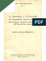 Agricultura Del Desarrollo