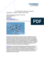 Why Lead Screws Best Fit Linear Motion Applications Taen