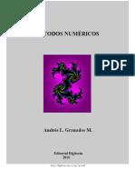 Curso Sobre Metodos Numericos_-_A. Granados