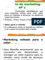 Composto de Marketing- 4p s Aula 2