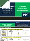 Apresentação -NOÇÕES DE MEIO AMBIENTE - Lino