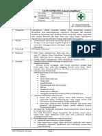 Sop Leptospirosis (Tanpa Komplikasi)
