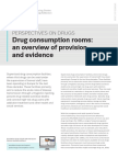 EMCDDA - Drug Consumption Rooms_update 2016 2