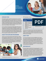 Ib Dp Cefr Benchmarking Summary En