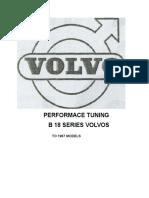 Performance Tuning b 18 Series Volvos