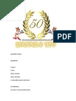 50 Recetas