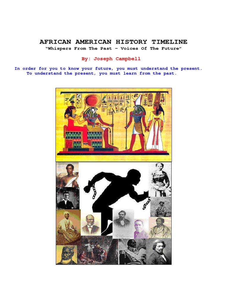 Black History Timeline