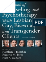 Handbook of counselling an psychoterapy with Lesbian, gay, bisexual an Transgender clients