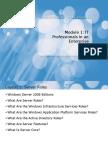 Cap1 - IT Professionals in an Enterprise