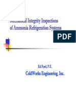 Ammonia Mechanical Integrity