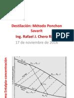 Destilación Método Ponchon Savarit.pdf