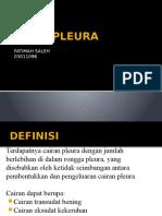 Efusi Pleura (Radiologi Al)