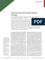 ANDERSON DG Et Al. Non Viral Vectors_Reviews
