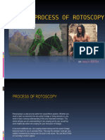 Process of Rotoscopy