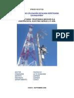 Proyecto Electrificacion Antena Telefonica Catahuitaña 10kv