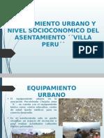 Equipaminto Urbano y Nivl Socioconomico
