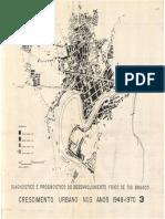 Crescimento Urbano 1948-1970 RBR