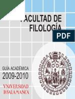 Guia Filologia 2009-10