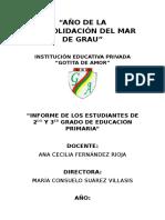 Ejemplo de Informe Académico - Profesor